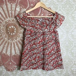 Anthropologie || We Heart Vera Top